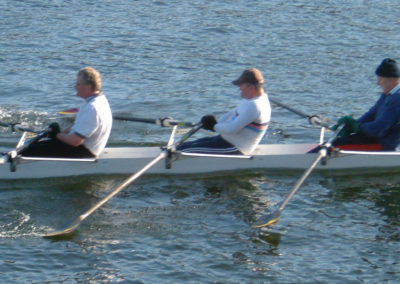 shipklake Cikings rowing club in action